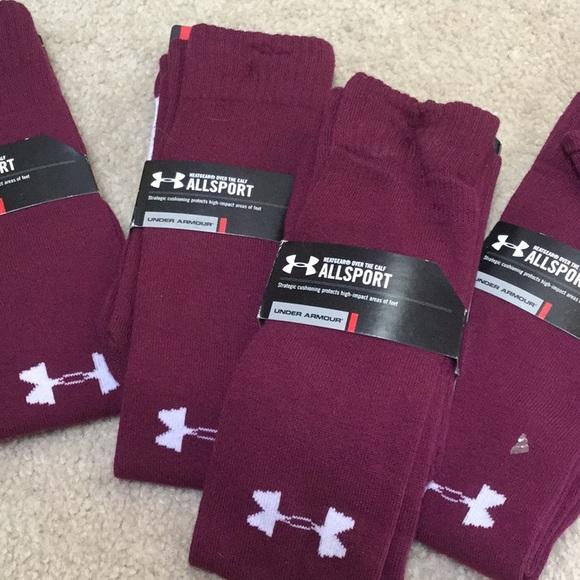 f34d4d5d16 UnderArmour HeatGear Allsport socks NWT